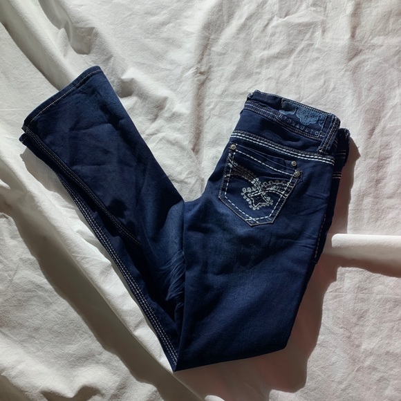 Hydraulic Jeans Size 3/4 Bailey Micro Boot